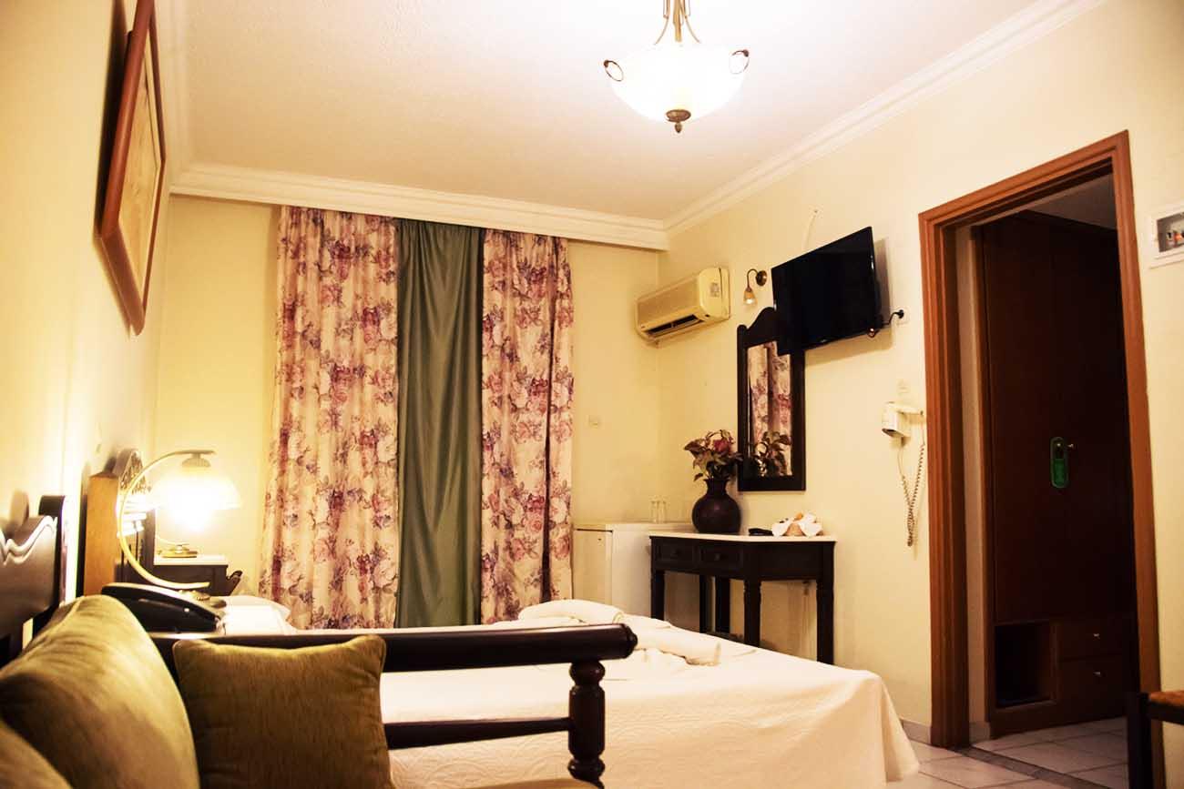 Aegeon Hotel Room