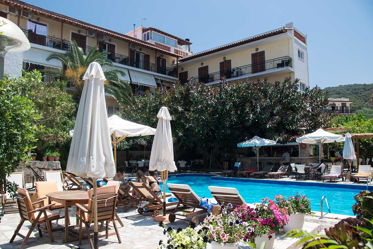 Aegeon Hotel Pool 1