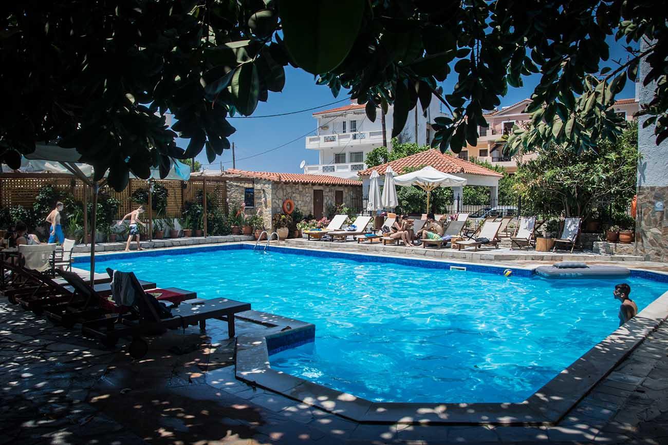 Aegeon Hotel Pool 3