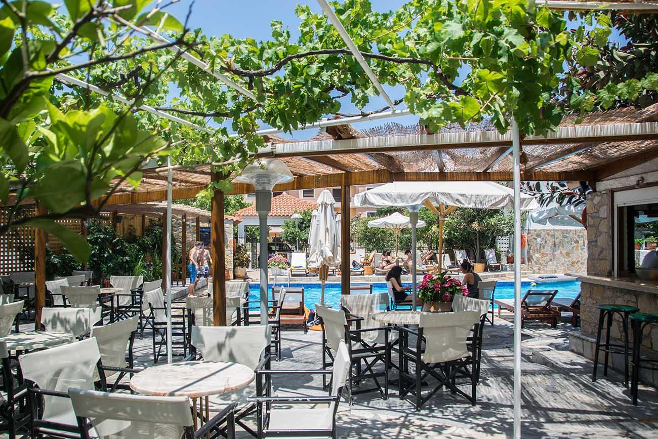 Aegeon Hotel Pool 4